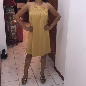 Casual Summer Yellow dress